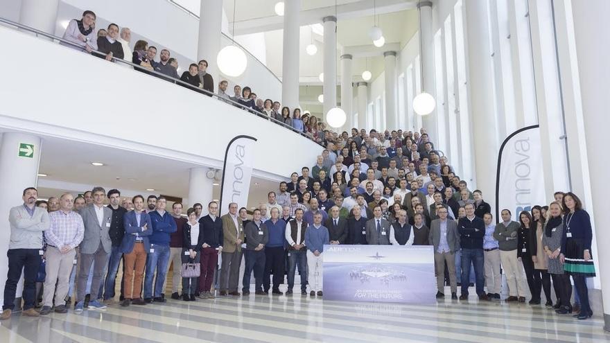La convención anual de Aernnova reúne en Vitoria a 200 directivos de la empresa