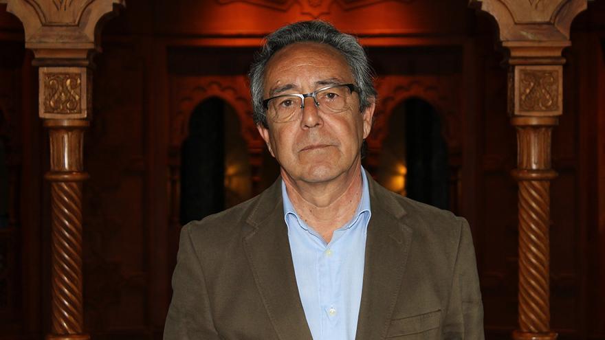 El director de la Fundación Tres Culturas, José Manuel Cervera. / JUAN MIGUEL BAQUERO