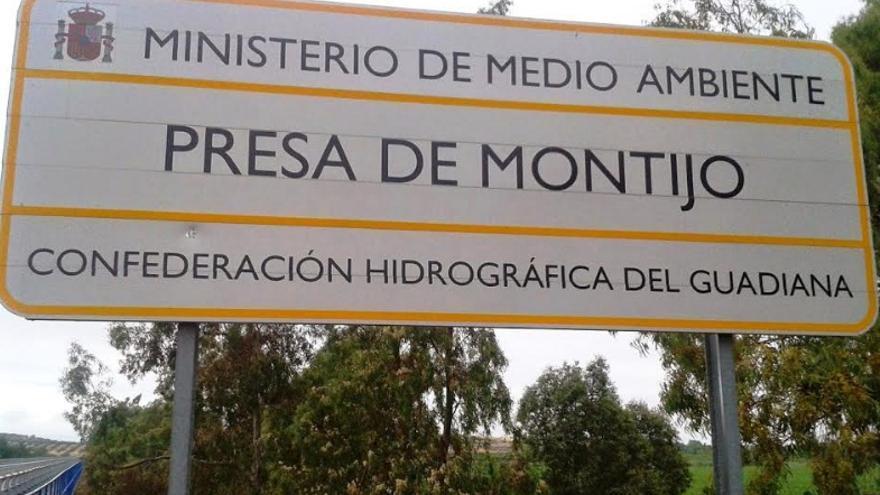 Presa de Montijo