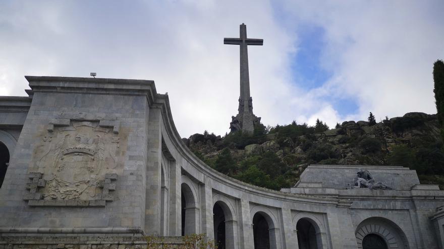 La Basílica del Valle de los Caídos cerrada y vigilada por la Guardia Civil a horas de la exhumación