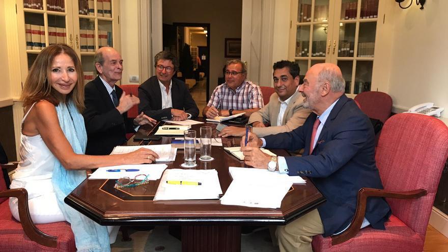Reunión de los consejos sociales de las dos universidades públicas canarias