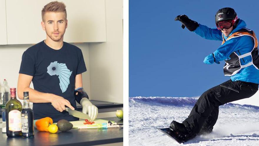 El austriaco Patrick Mayrhofer representa al equipo Ottobock en la disciplina de prótesis de brazo robóticas