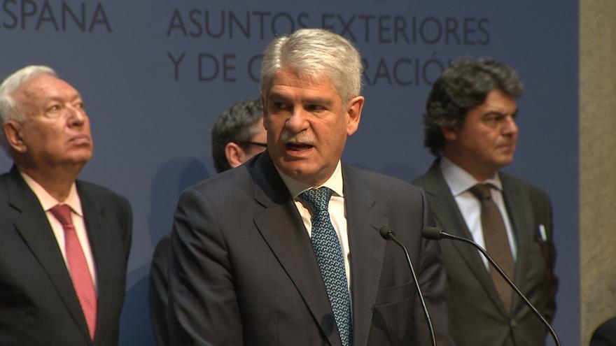 """Dastis asegura que España quiere trabajar """"desde ya"""" con la administración de Trump para fortalecer relaciones"""