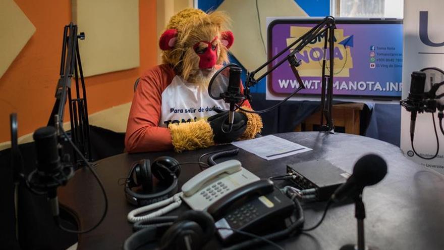 Un simio virtual imparte educación sexual a adolescentes nicaragüenses