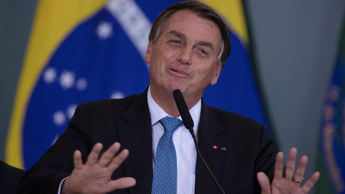 El presidente de Brasil, Jair Bolsonaro, en una fotografía de archivo. EFE/Joédson Alves