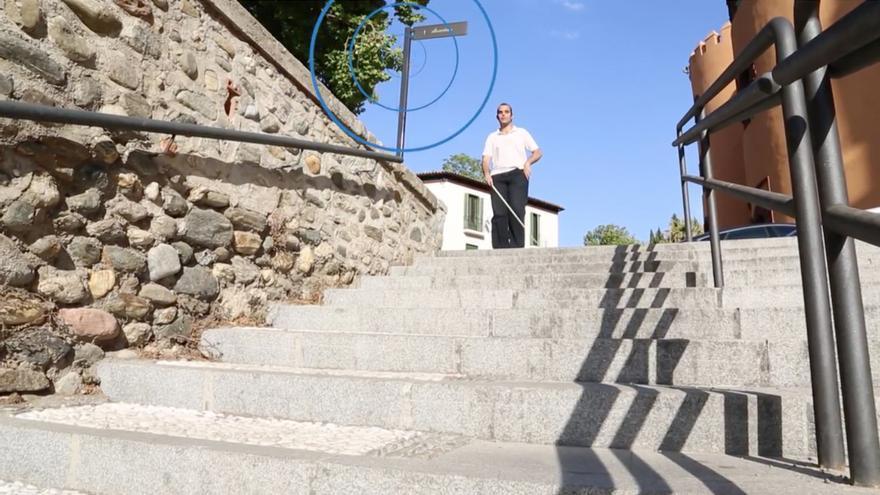 Outbarriers, una aplicación para móviles que identifica mediante balizas los obstáculos urbanos