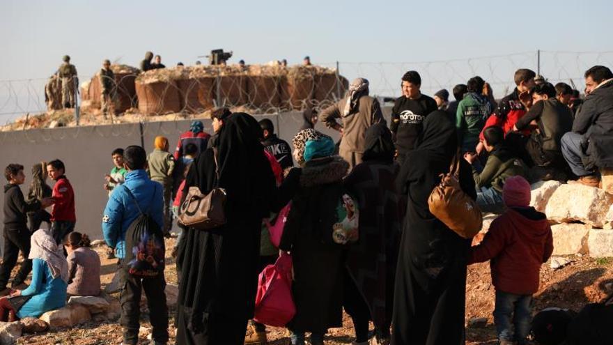 Las agencias humanitarias, desbordadas por la situación en el noroeste sirio