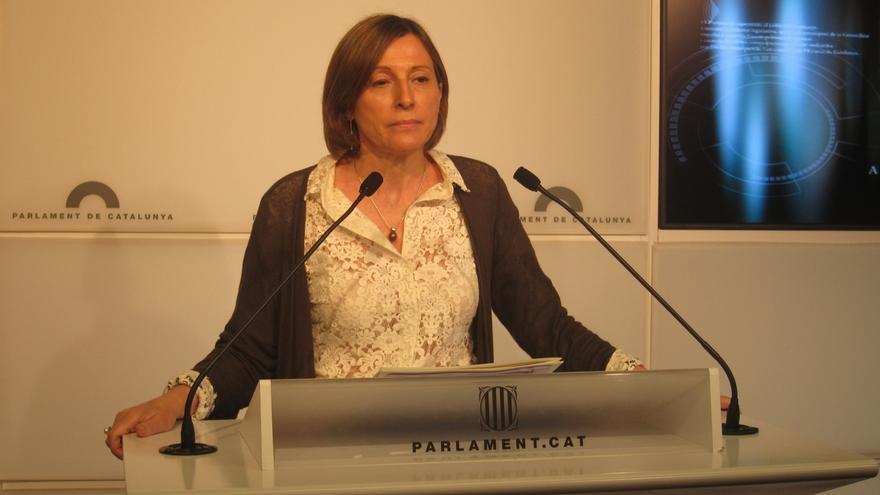 """Forcadell muestra """"todo el apoyo"""" a la alcaldesa de Berga tras su detención"""