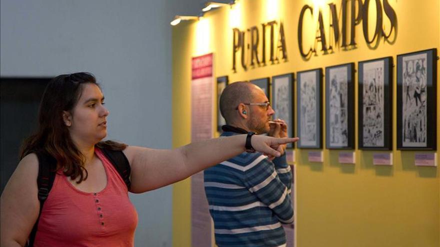 Purita Campos, creadora de Esther, dice que la exposición llega tarde porque es mujer