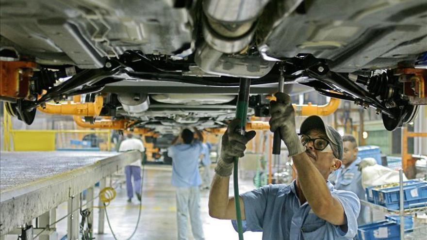 La producción industrial brasileña se redujo un 0,5 % en el primer trimestre