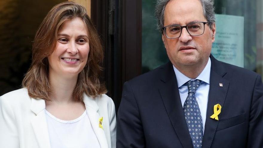 La exconsellera Serret afirma que no le importaría reunirse con el ministro Borrell