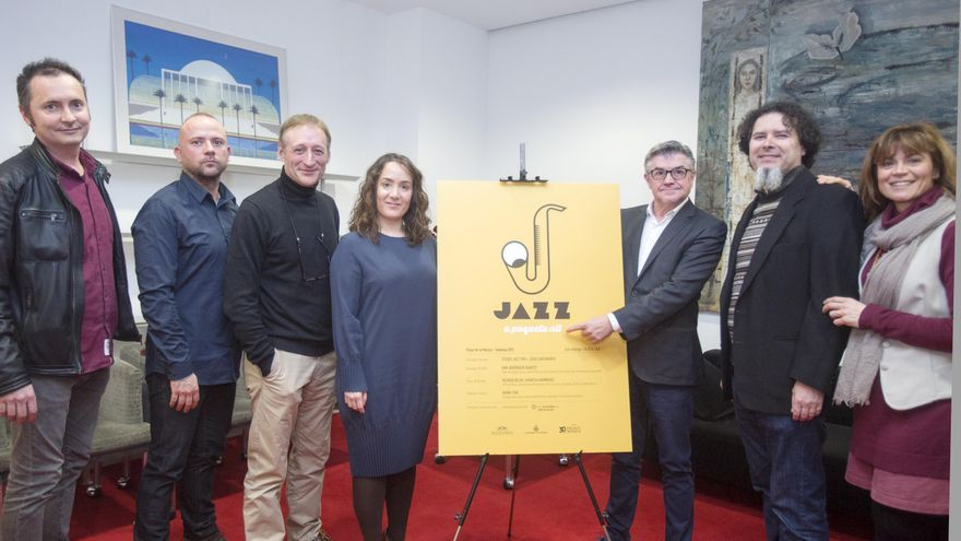 Presentació de 'Jazz a poqueta nit'