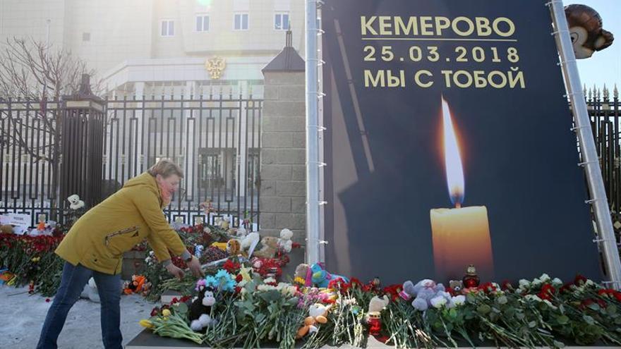 El centro comercial que se incendió en Siberia fue construido ilegalmente