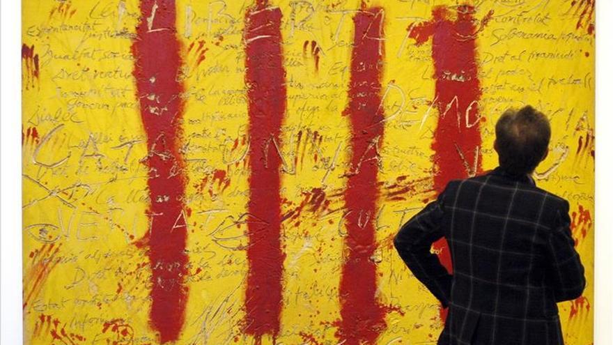 """Llega a Miami exposición de Antoni Tapies """"visto por sí mismo"""""""