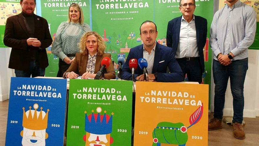 """Torrelavega se llena de actividades navideñas para ser el """"referente"""" regional en estas fiestas"""