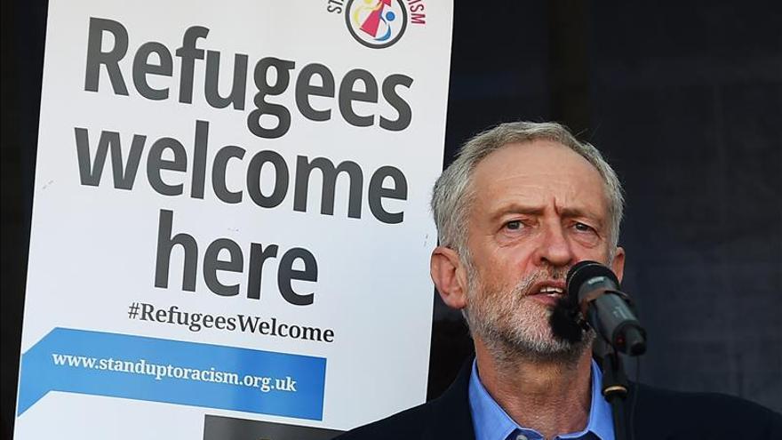 Jeremy Corbyn ha crecido en las encuestas en la recta final de la campaña electoral.