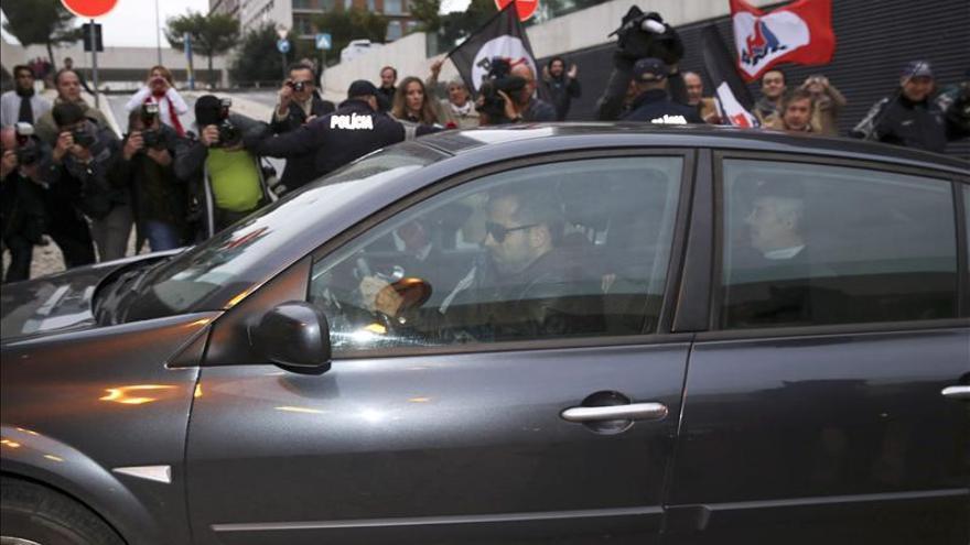 José Sócrates ya está de nuevo en los juzgados de Lisboa