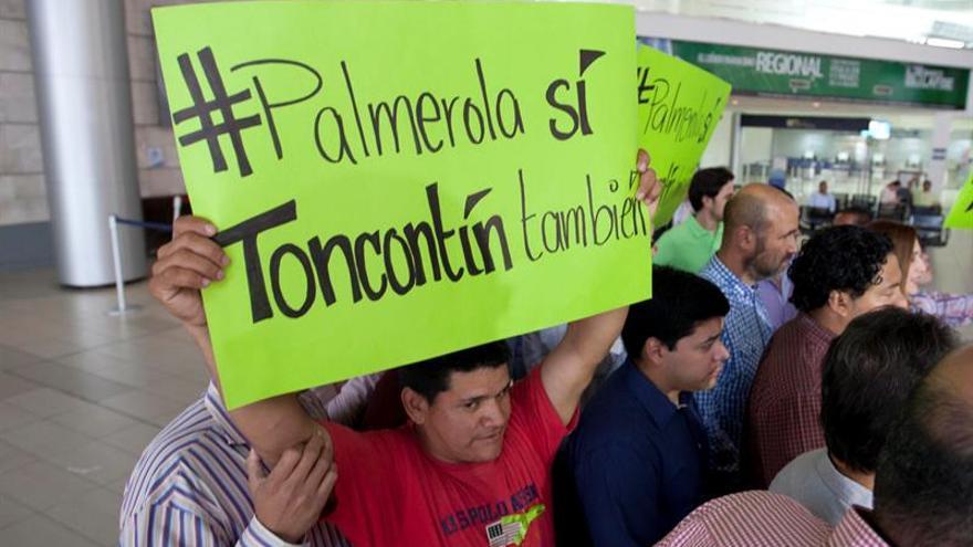 Continúa la protesta cerca de Presidencia de Honduras por caso Berta Cáceres