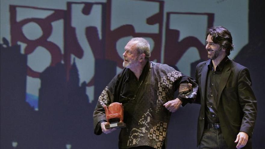 Terry Gilliam comparte su Premio de Honor con Richard Lester, su inspirador