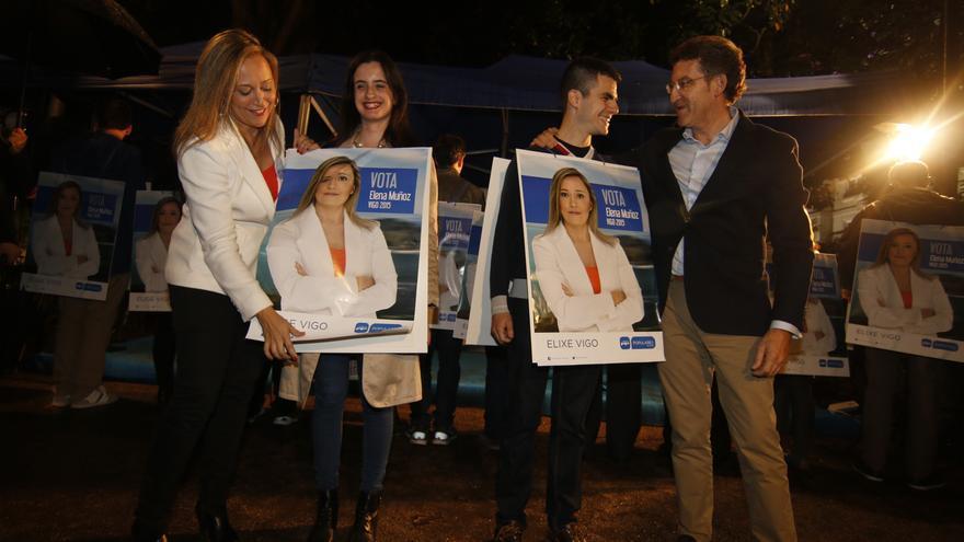 Feijóo, en la apertura de campaña del PP en Vigo / PPdeG