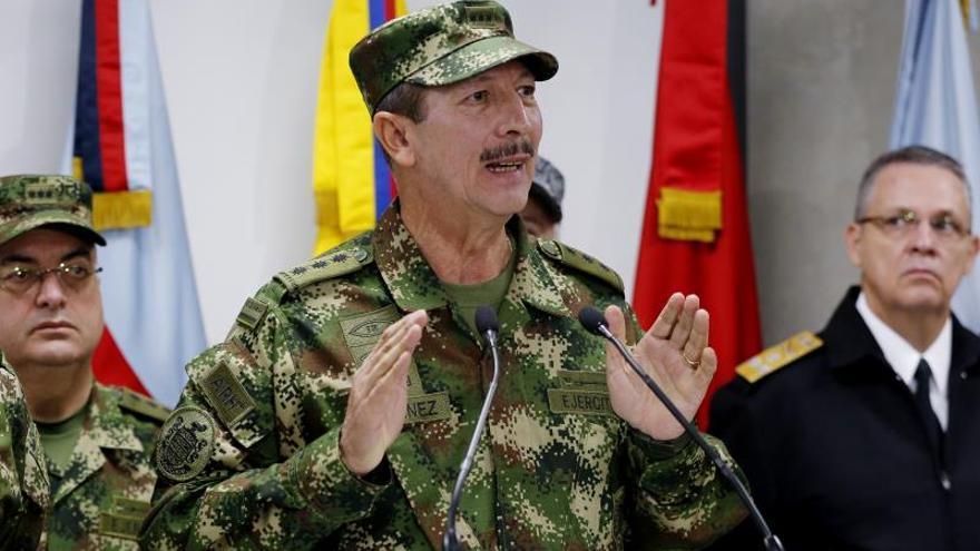 Comandante del Ejército colombiano dice desconocer denuncias de corrupción