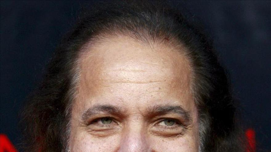 La estrella del cine porno Ron Jeremy, operado en Los Ángeles