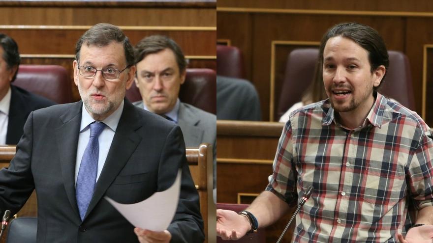 """Iglesias echa en cara a Rajoy los casos de corrupción del PP y el presidente replica: """"Menos mal que no es Robespierre"""""""