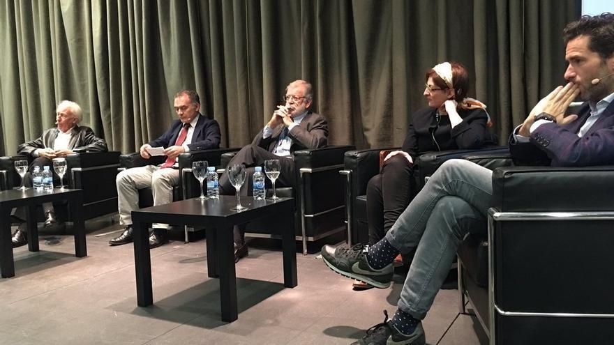 Boadella y Maneiro critican la postura de Ciudadanos ante el nacionalismo en un acto organizado por Carolina Punset