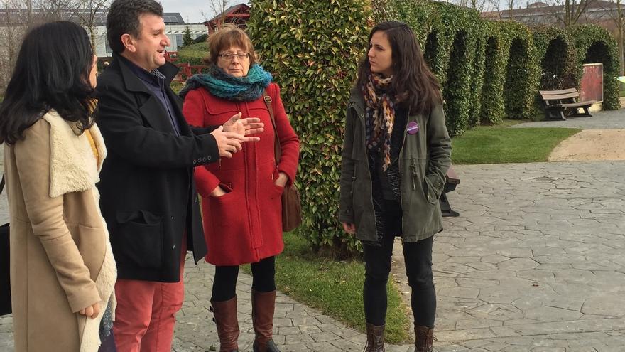 """Ione Belarra (Podemos) apuesta por un desarrollo """"respetuoso"""" con el medio ambiente y por empleo de calidad"""