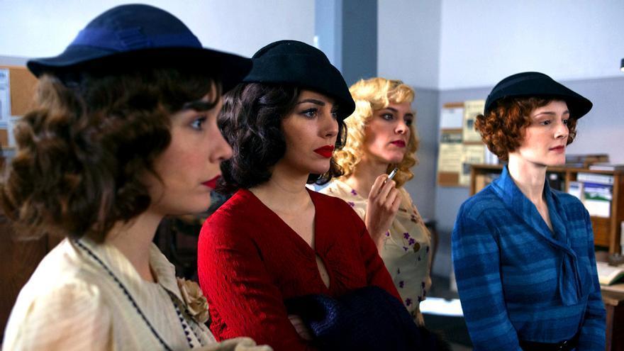 Fotogalería: Las primeras imágenes de la 4ª temporada de 'Las chicas del cable'