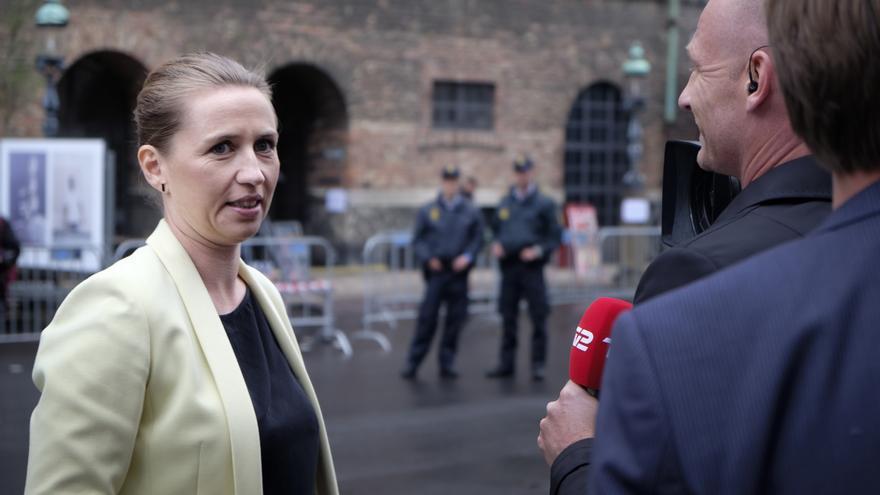 Mette Frederiksen, líder del partido socialdemócrata en Dinamarca.