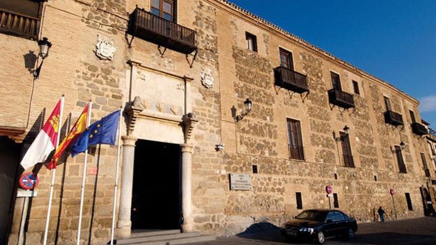 Palacio de Fuensalida, sede del Gobierno de Castilla-La Mancha