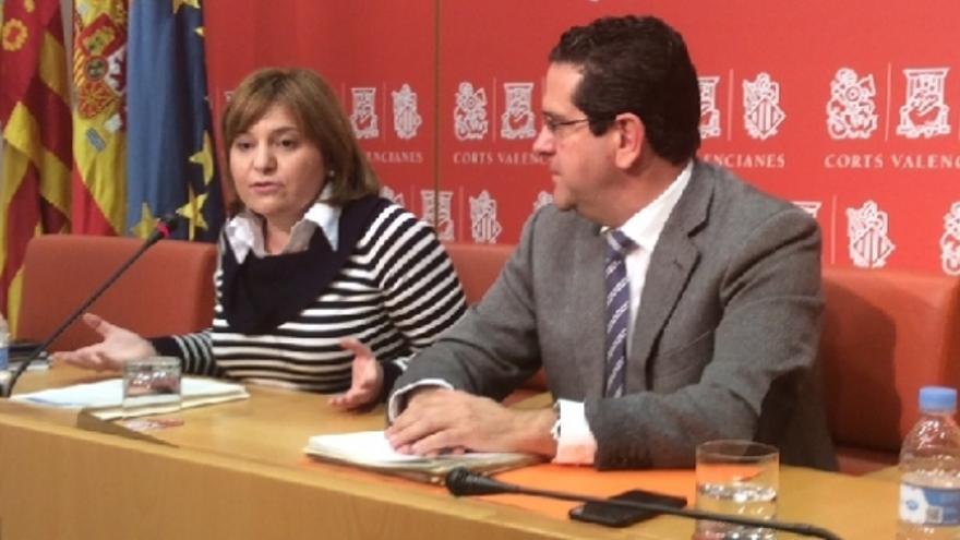 Isabel Bonig y Jorge Bellver comparecieron tras el abandono del PP de la comisión