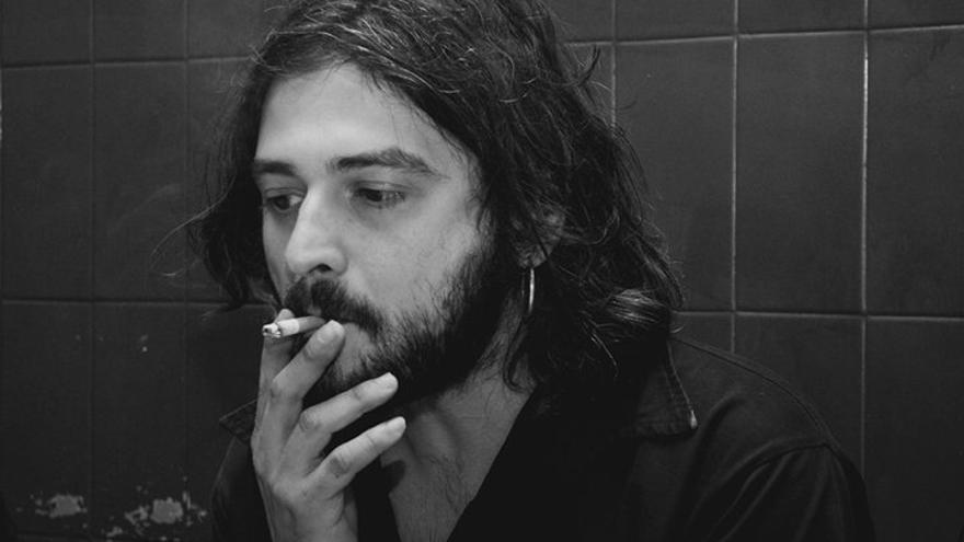 El poeta Óscar Aguado