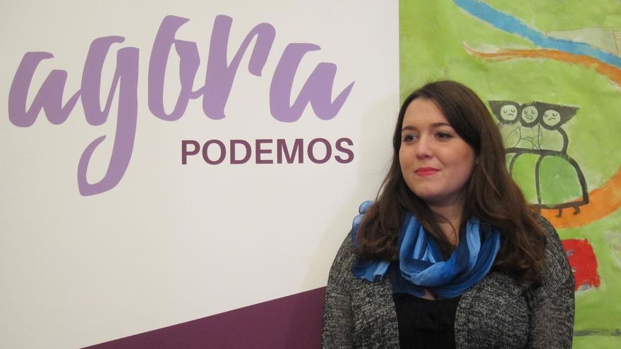 """Ángela Rodríguez lamenta que dar una opinión política parezca """"algo negativo"""" en Podemos y aboga por un debate sosegado"""