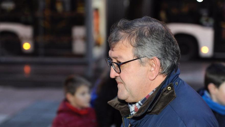 Aitor Telleria, a su entrada en el Palacio de Justicia