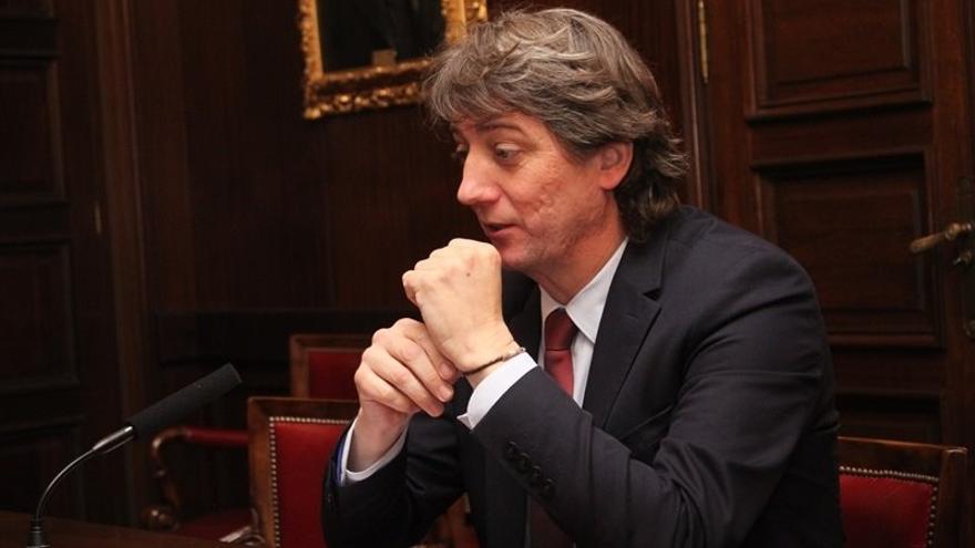 El alcalde de Soria, Carlos Martínez, lanzó un S.O.S ante el coronavirus.