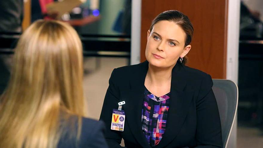 Emily Deschanel en 'Bones'