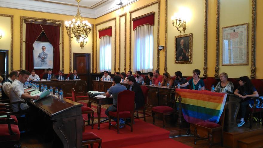 Pleno municipal del Ayuntamiento de Guadalajara