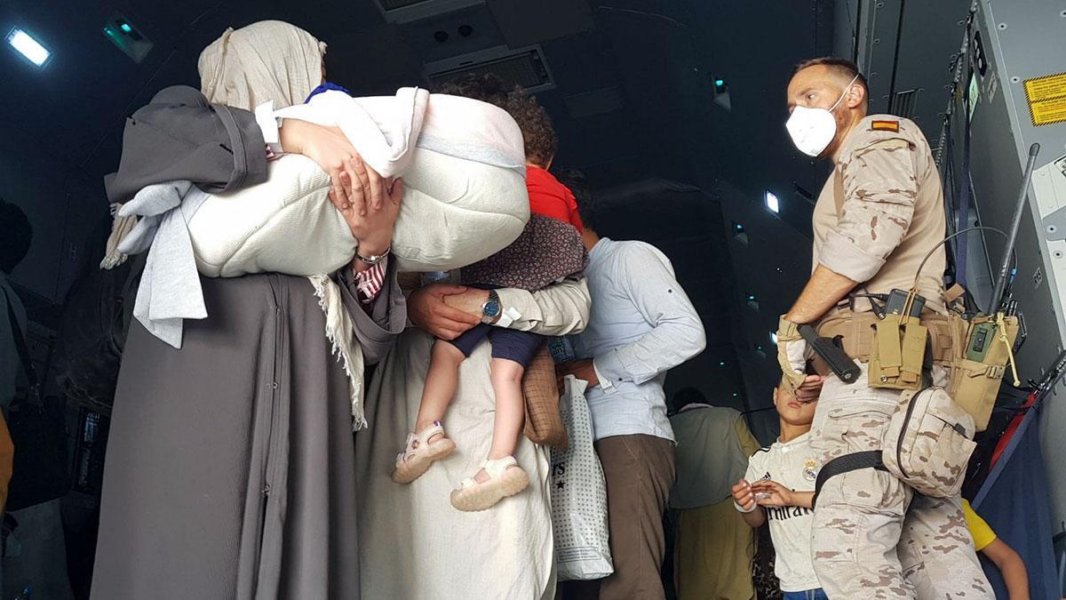 Evacuación de españoles y colaboradores afganos desde Afganistán