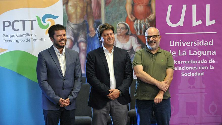 Presentación del seminario, en el Cabildo de Tenerife