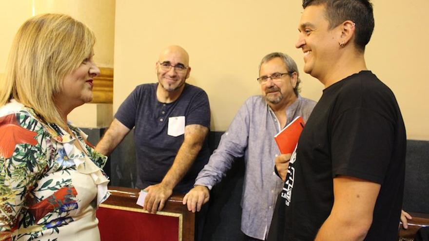 Carles Mulet y Jordi Navarrete, senadores de Compromís