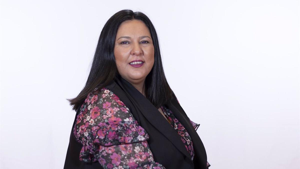 La vicepresidenta primera de la institución provincial, Dolores Amo.