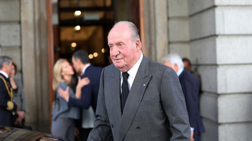 Archivo - El rey emérito Juan Carlos