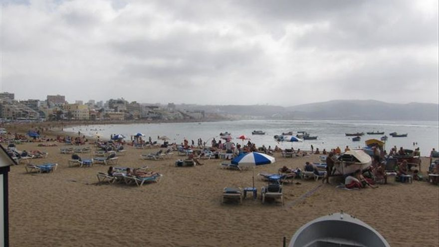 Playa de Las Canteras. (Europa Press)
