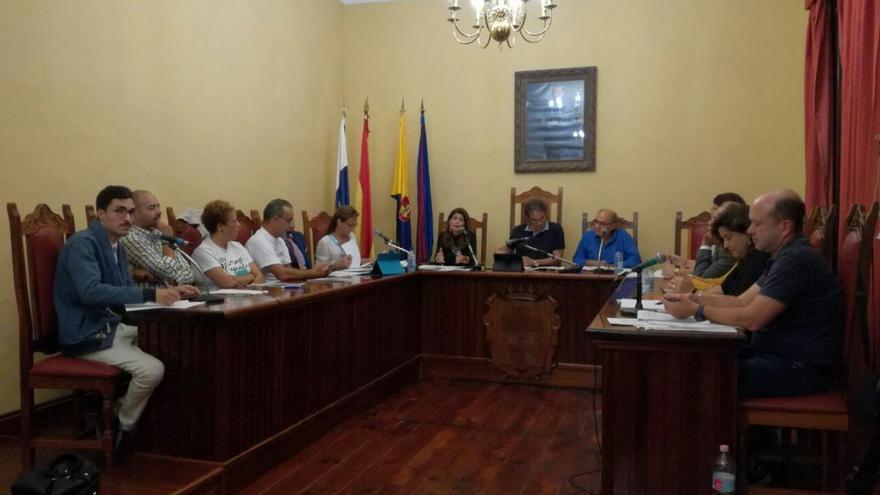 Pleno extraordinario del Ayuntamiento de Agaete.
