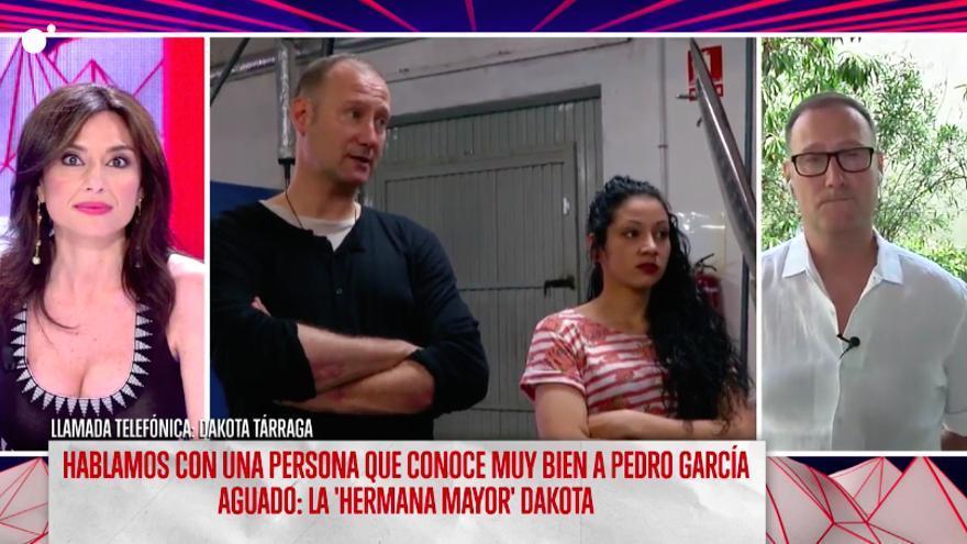 """Dakota, a Pedro García Aguado en su reencuentro: """"No tengo palabras para agradecerte lo que has hecho por mí"""""""