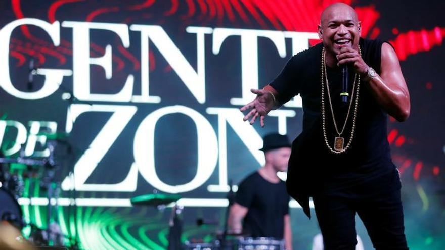 En la imagen, Alexander, director del grupo Gente de Zona.