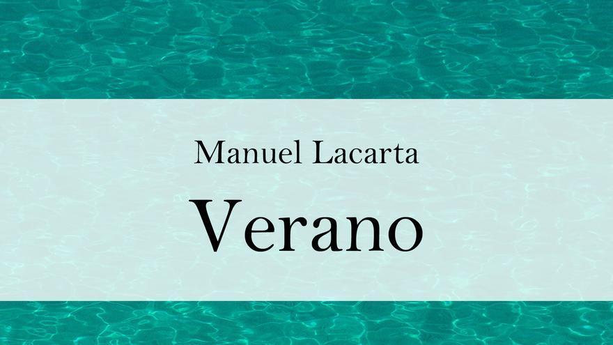 El libro 'Verano' de Manuel Lacarta