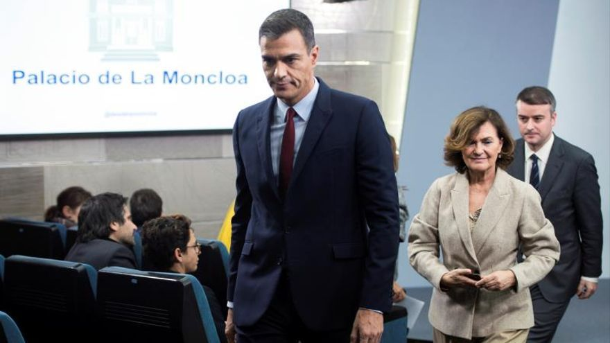 Calvo: las exaltaciones franquistas provienen de una minoría no democrática